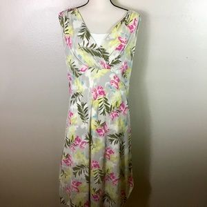EUC- I.E Woman Butterfly And Floral Print Dress